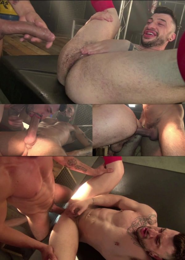 DarkAlleyXT Taking Big Uncut Cock Gianni Maggio Sergio Moreno Bareback