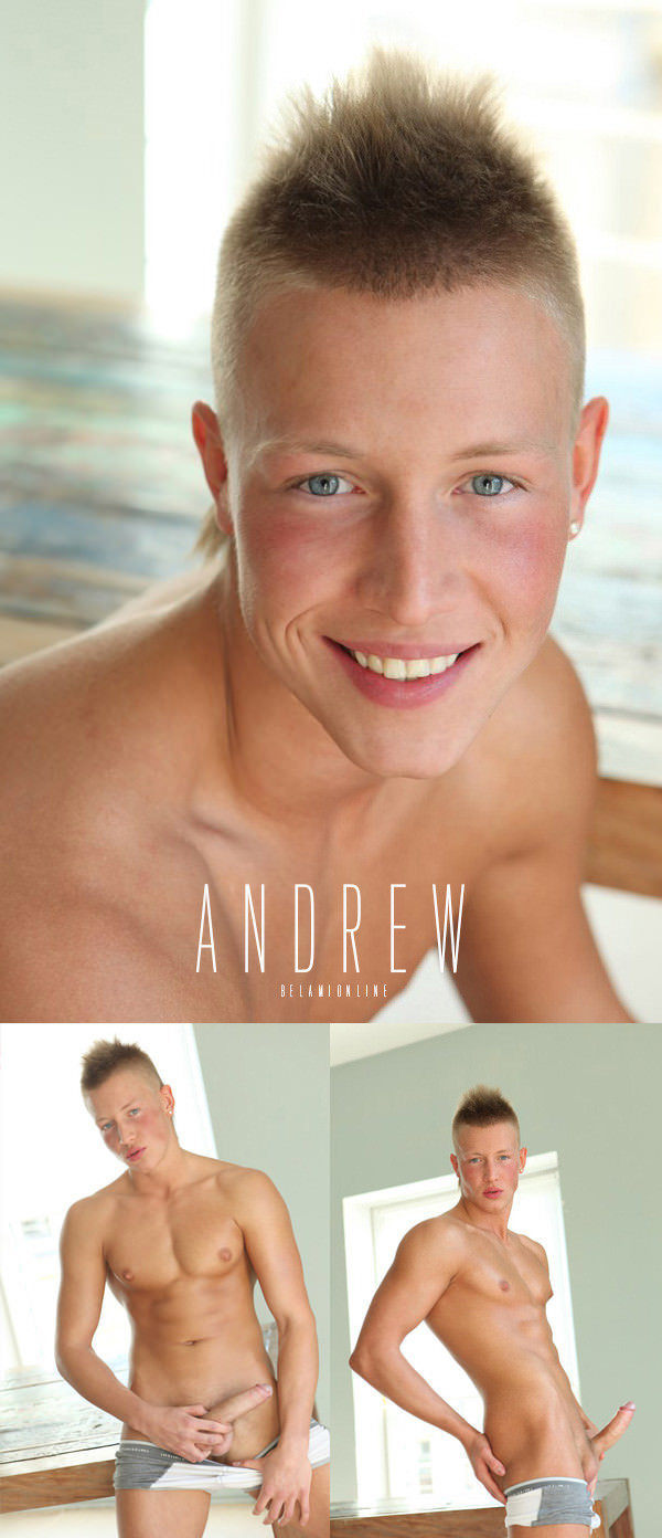 BelAmiOnline Andrew Lynch Photosession Video