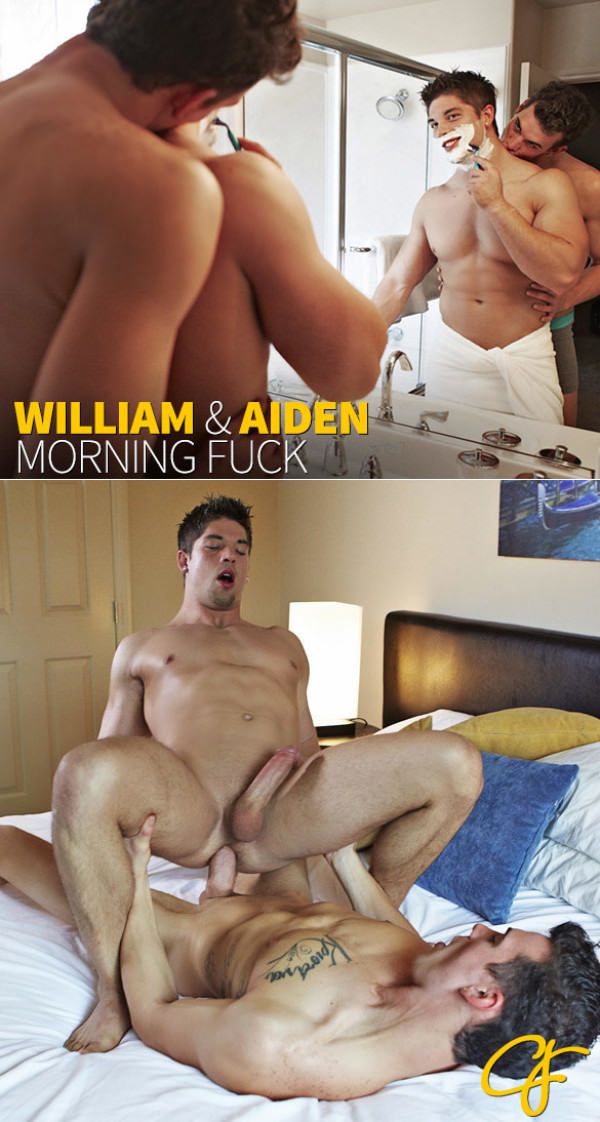 CorbinFisher Big-dicked William bangs Aiden raw