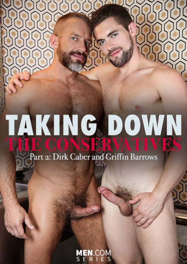 Str8toGay Taking Down the Conservatives, Part 2 Dirk Caber bangs Griffin Barrows Men.com