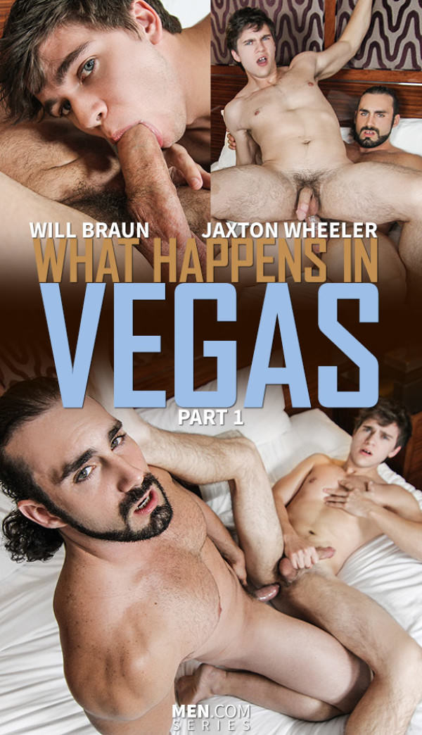 Str8toGay What Happens in Vegas, Part 1 Jaxton Wheeler bangs Will Braun Men.com