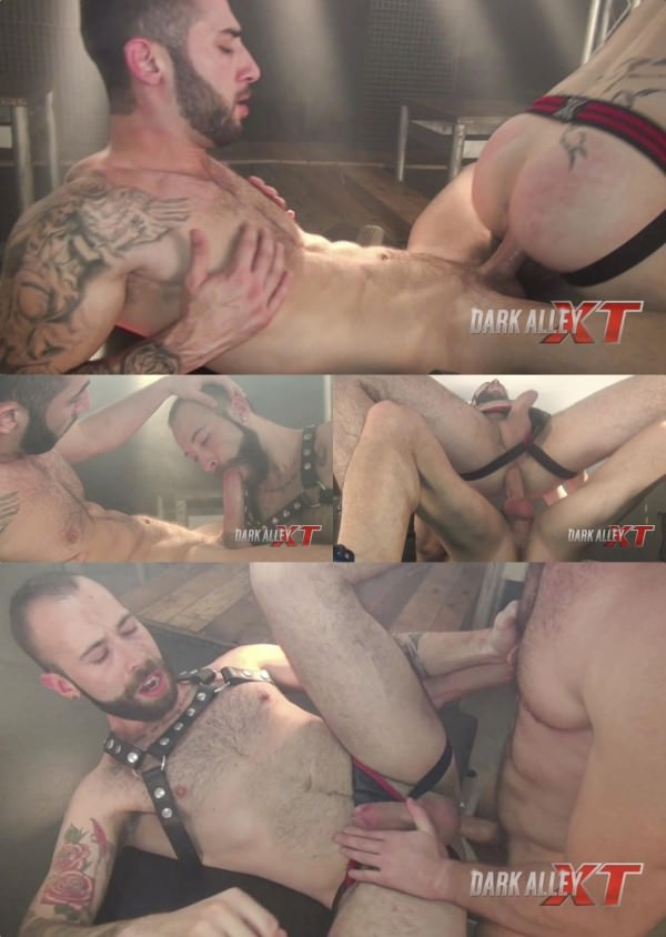 DarkAlleyXT Big Dick Frenzy Angel Garcia Alejandro Torres Bareback