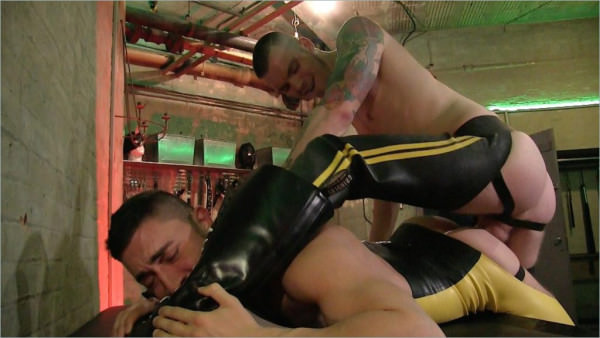 Rawandrough Rubber Fuck Lads - Gaston Croupier AJ Alexander Bareback