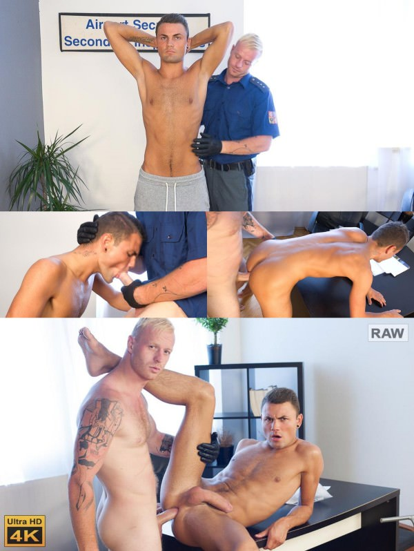 Str8hell Tom Milos RAW AIRPORT SECURITY Milos Ovcacek Tom Vojak
