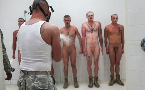TroopCandy The Hazing, The Showering and The Fucking