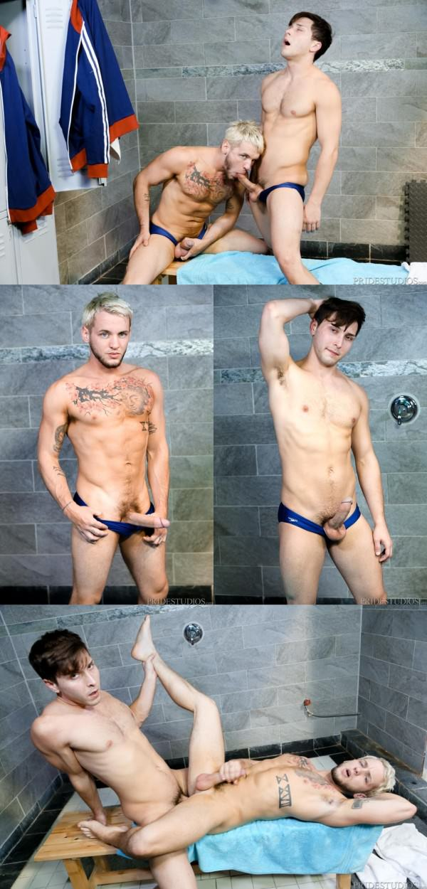 PrideStudios Swimmers Brandon Rivers Colton Grey