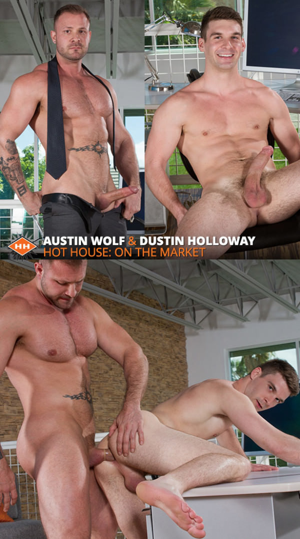 HotHouse On the Market Austin Wolf fucks Dustin Holloway