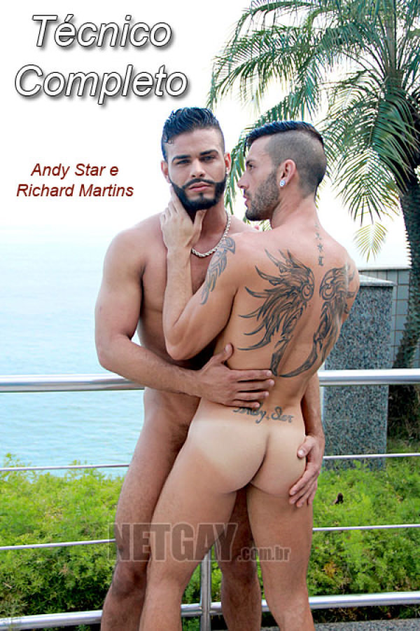 NetGay Tecnico Completo Andy Star Richard Martins