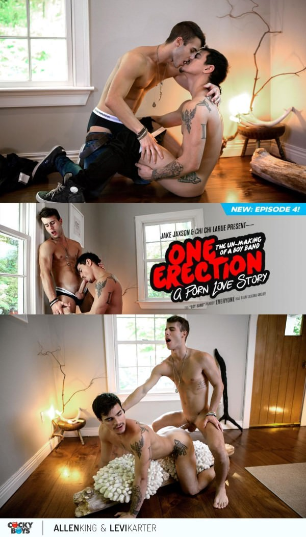 CockyBoys One Erection A Porn Love Story Allen King Levi Karter