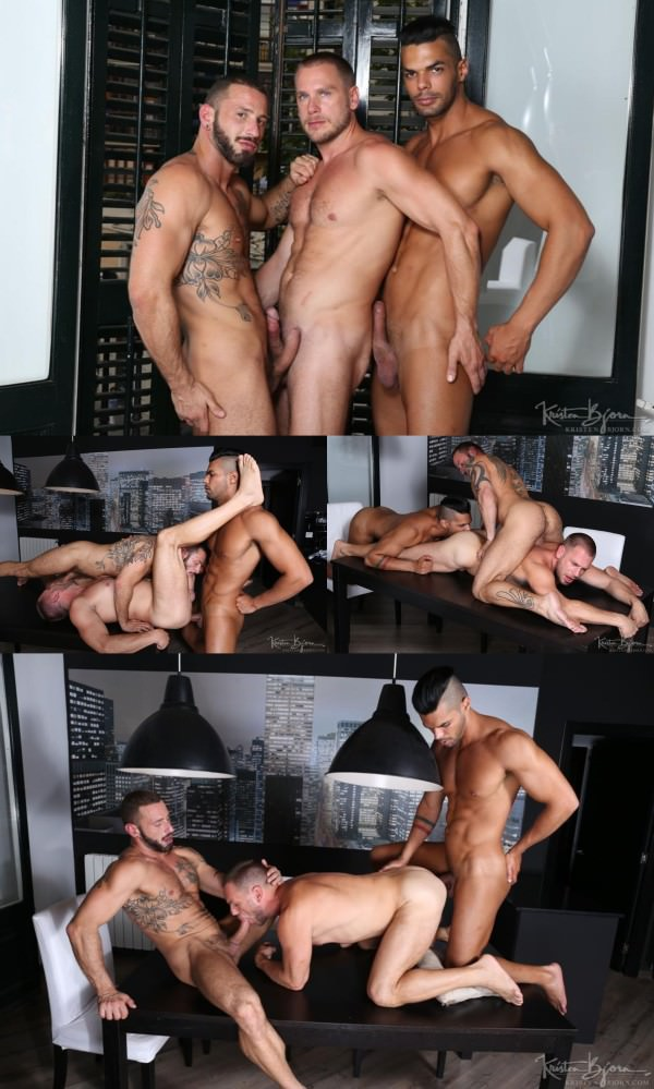KristenBjorn Hot Stuff: Nightfall Sex Hans Berlin, Antonio Miracle Lucas Fox Bareback