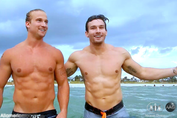 AllAmericanGuys Eric T Spencer Y beach footage
