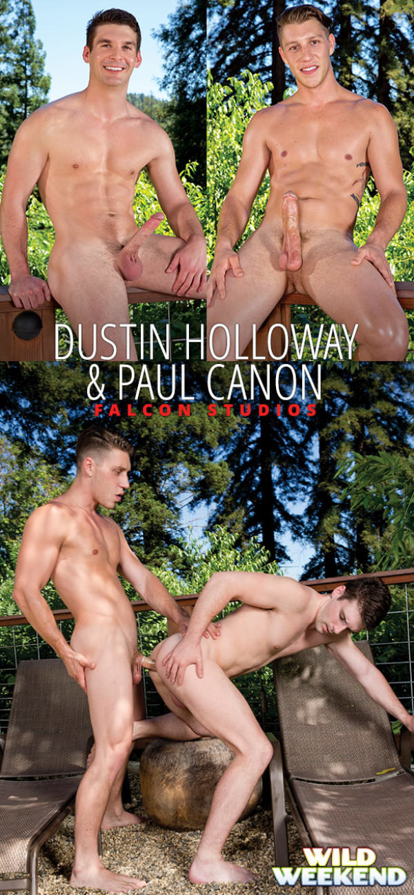 FalconStudios Wild Weekend Part 1 Paul Canon fucks Dustin Holloway