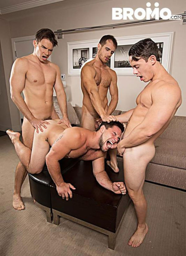 Bromo Str8 Bitch Part 4 Aspen, Addison Graham, Evan Marco Tobias Bareback