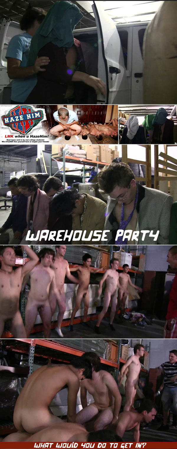 HazeHim Warehouse Party