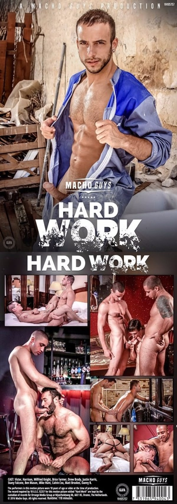 MachoGuys Hard Work DVD