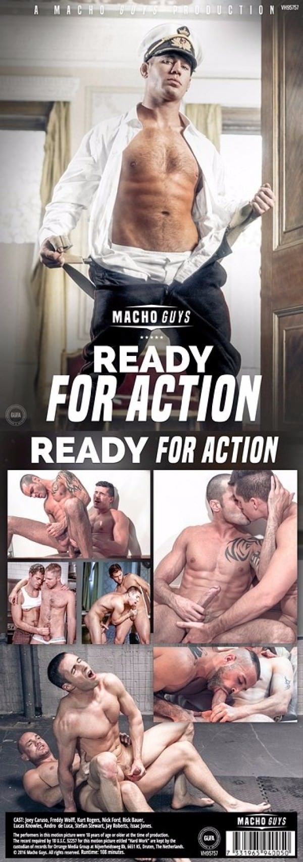 MachoGuys Ready For Action DVD