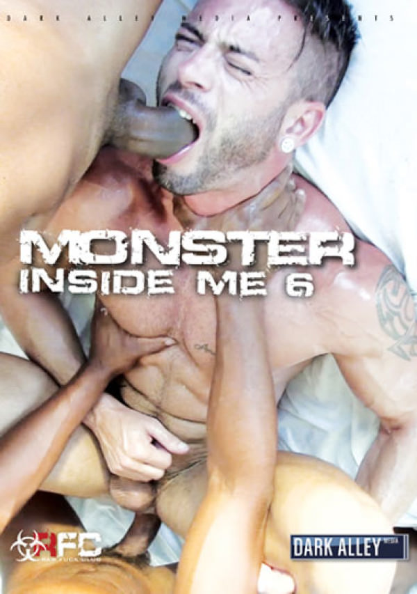 DarkAlley A Monster Inside Me 6 Bareback DVD