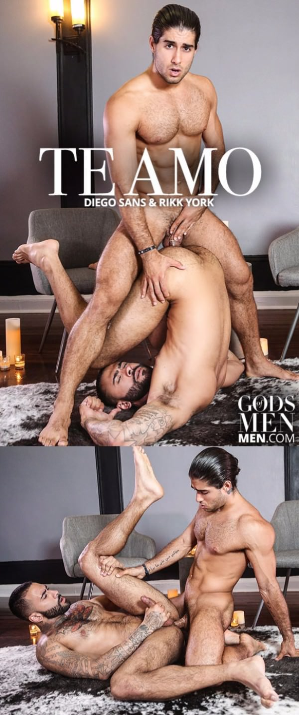 Gods of Men Te Amo Diego Sans Rikk York Men.com