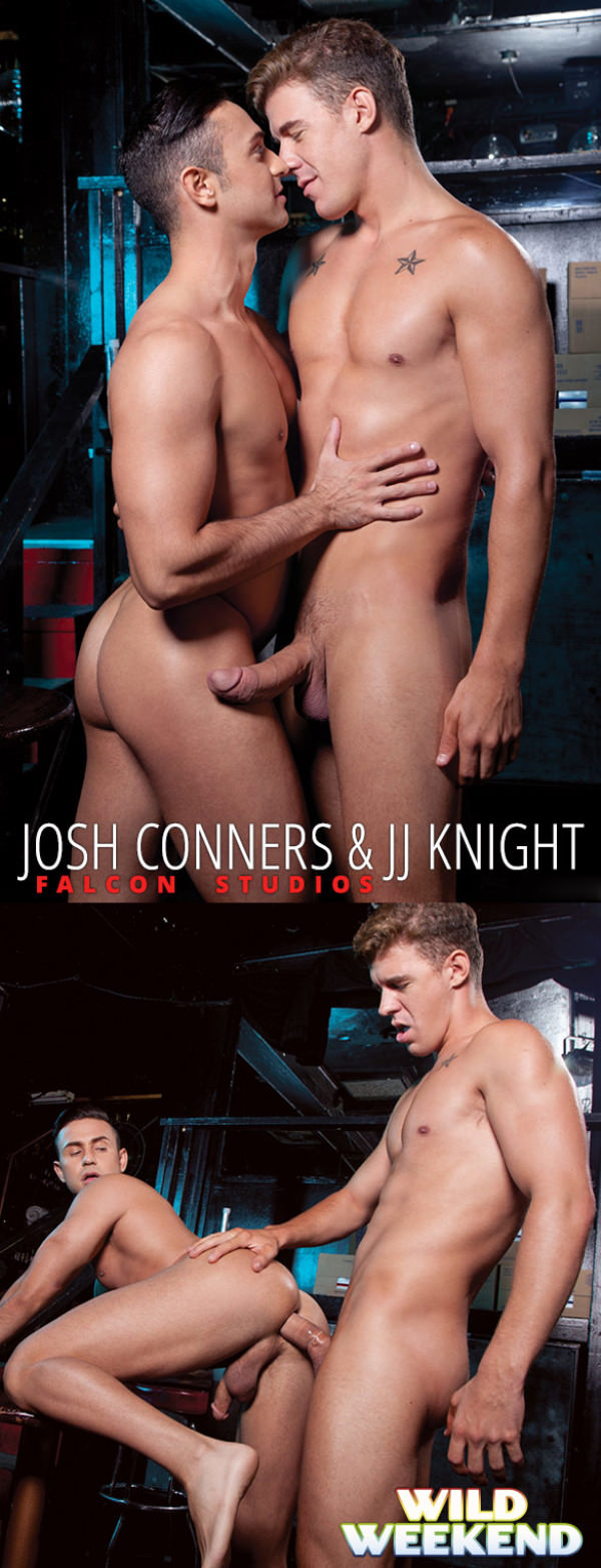 FalconStudios Wild Weekend - Part 1 Josh Conners takes JJ Knight's big cock