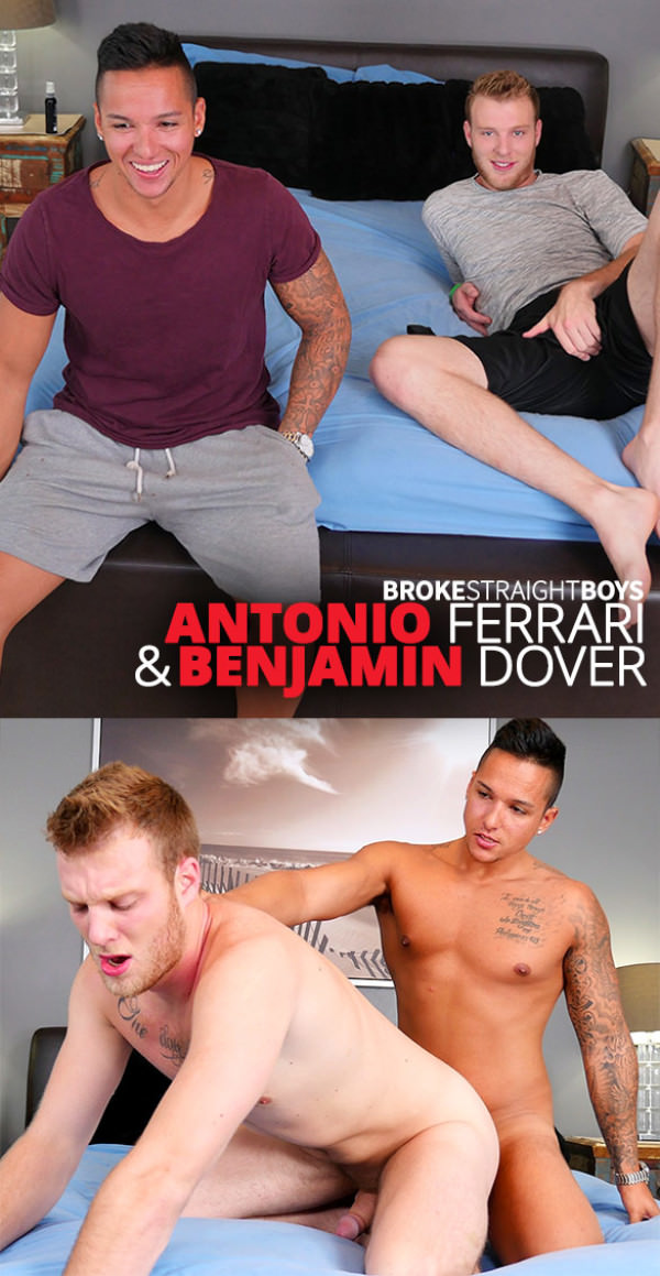 BrokeStraightBoys Antonio Ferrari fucks Benjamin Dover raw