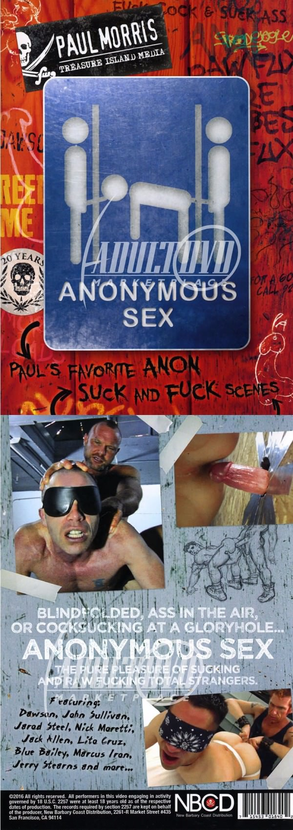 TreasureIslandMedia Anonymous Sex DVD