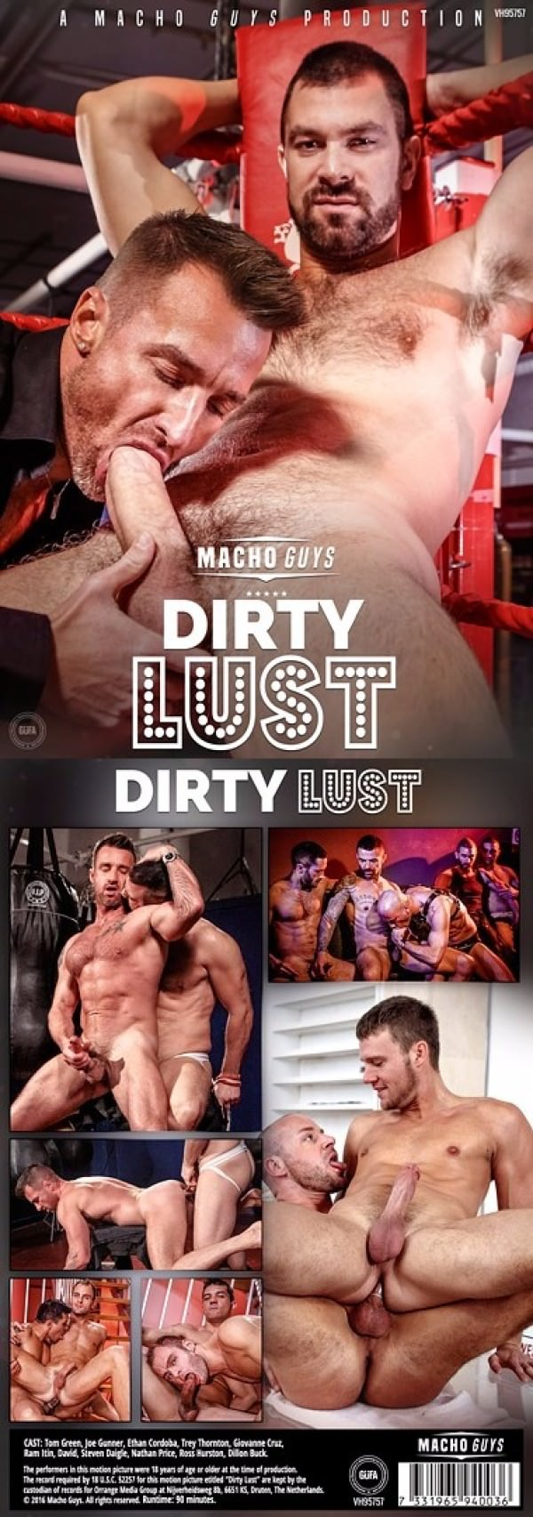 MachoGuys Dirty Lust DVD
