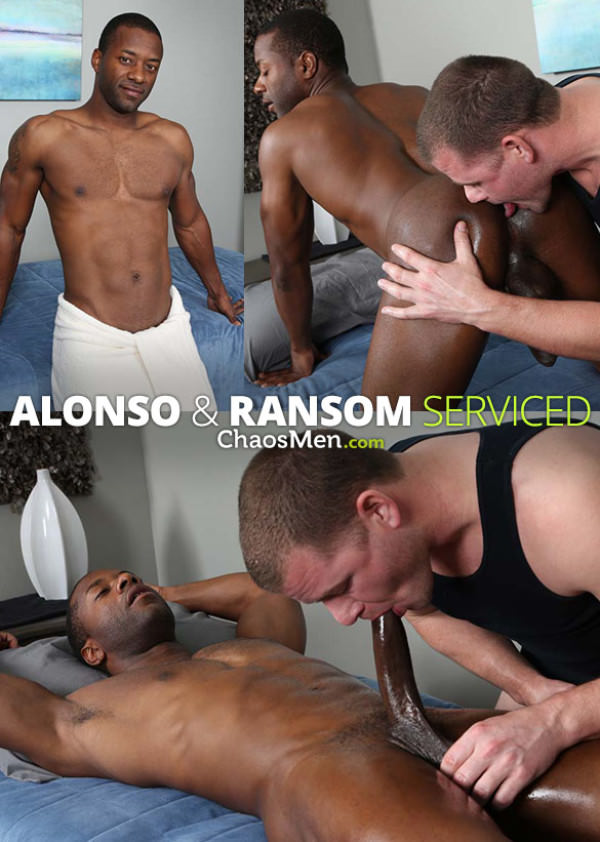 ChaosMen Alonso and Ransom blow each other