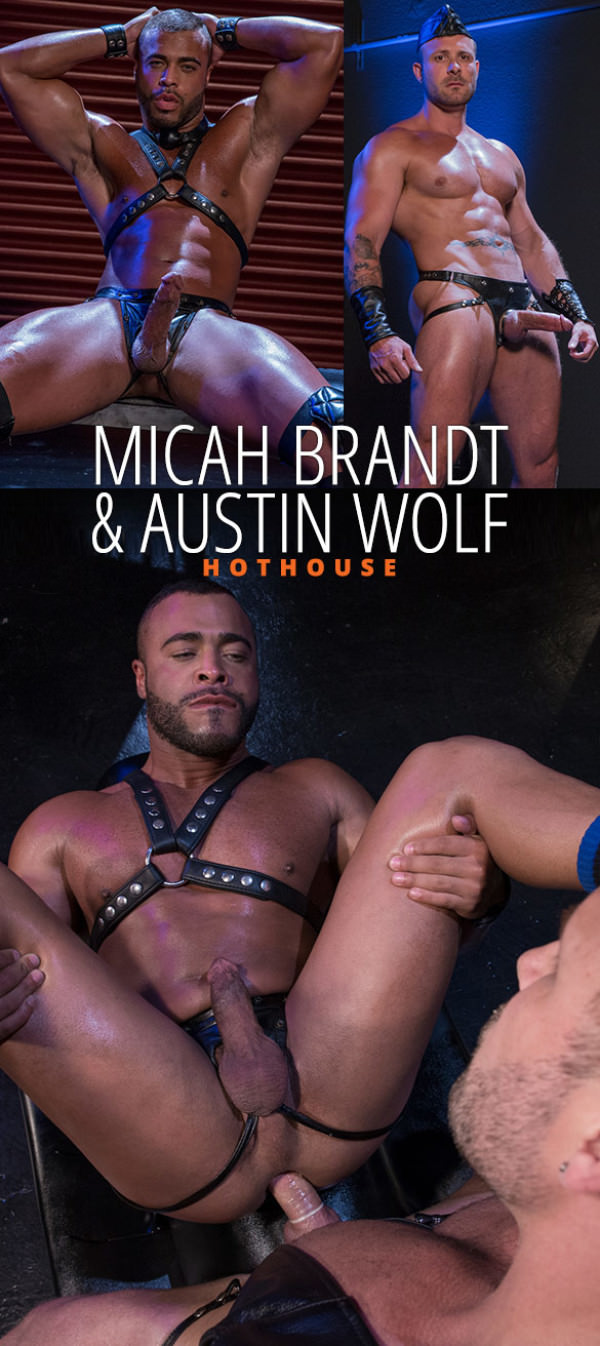 HotHouse Skuff: Rough Trade 1 Austin Wolf bangs Micah Brandt