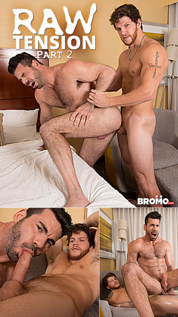 Bromo Raw Tension Part 2 Ashton McKay bangs Billy Santoro Bareback