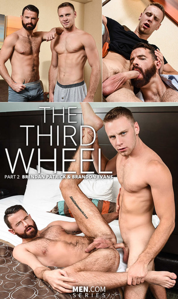 Str8toGay The Third Wheel Part 2 Brandon Evans fucks Brendan Patrick Men.com