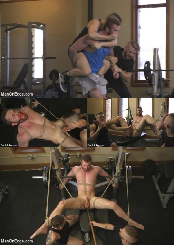 Menonedge Ginger Muscle God Tormented and Edged in Bondage Scott Ambrose