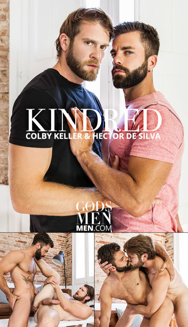 GodsofMen Kindred Colby Keller and Hector de Silva flip fuck Men.com