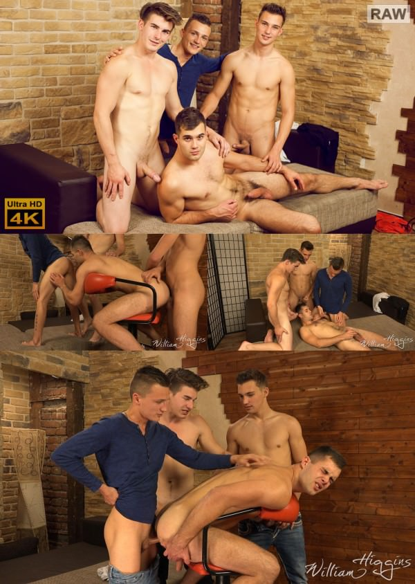 WilliamHiggins Wank Party 2016 #10, Part 2 RAW WANK PARTY Alan Carly, Dusan Polanek, Martin Polnak Peter Andre bareback