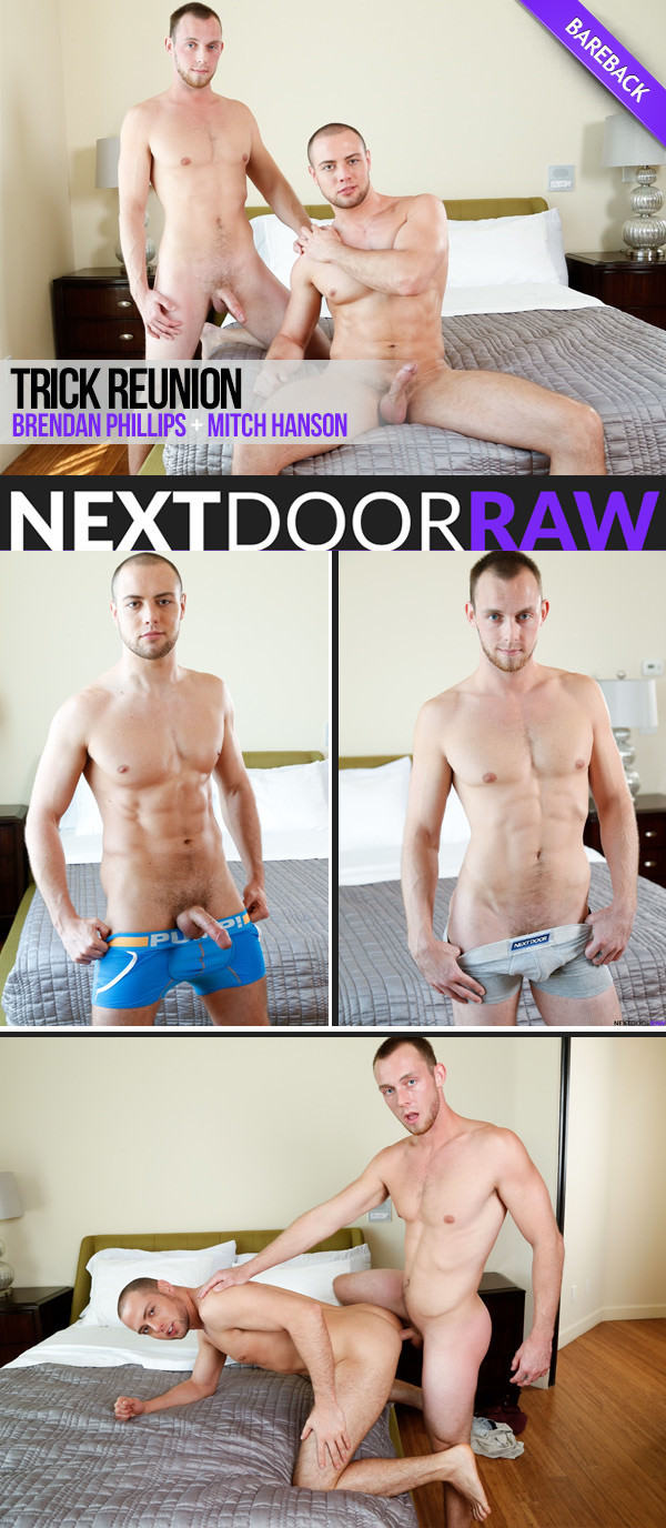 NextDoorRaw Trick Reunion Brendan Phillips Bottoms For Mitch Hanson