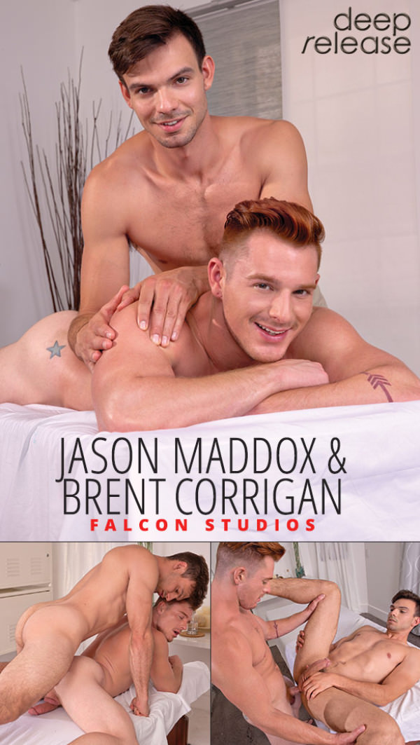 FalconStudios Deep Release - Brent Corrigan and Jason Maddox flip fuck