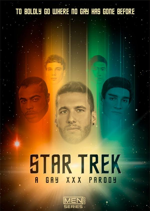 SuperGayHero Star Trek: A Gay XXX Parody Trailer Part 1 Brendan Patrick, Donny Forza, Jack Hunter, Jordan Boss Rod Peterson Men.com
