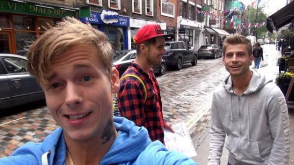 BelAmiOnline Backstage Documentary Greetings from London part 1