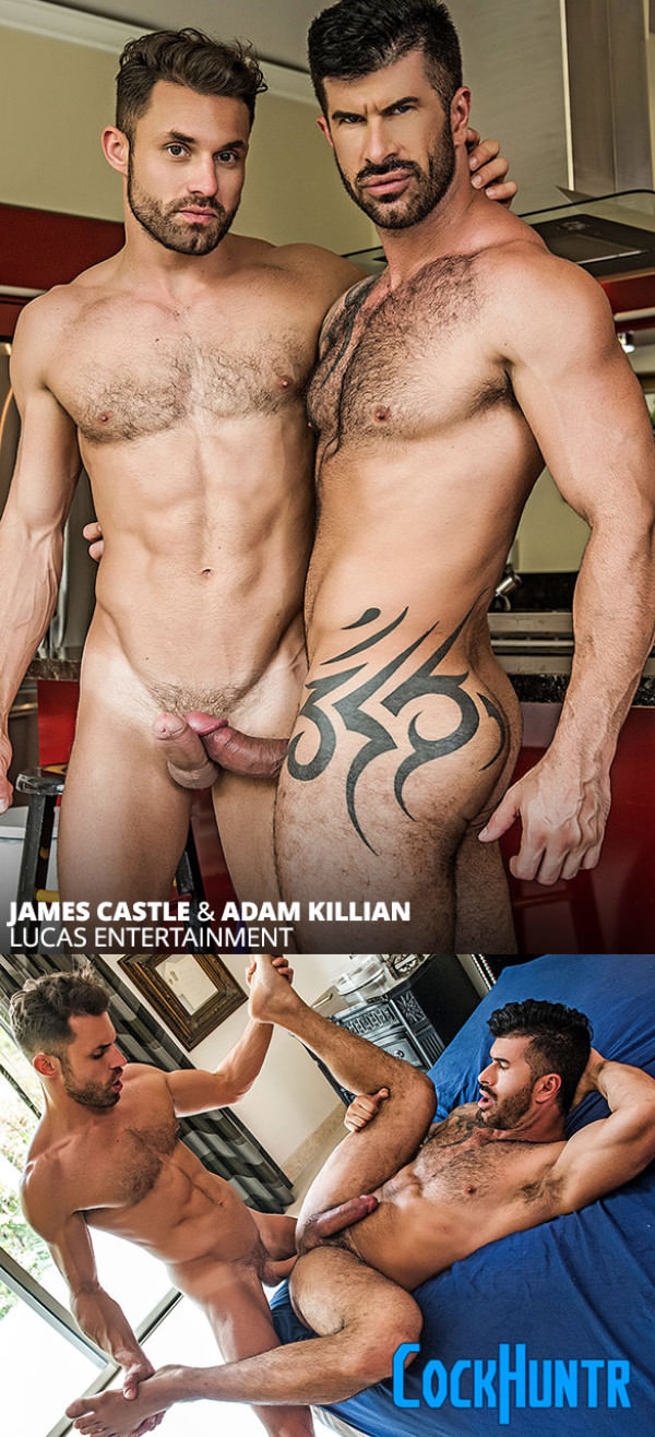 LucasEntertainment Cock Huntr James Castle Adam Killian flip fuck raw