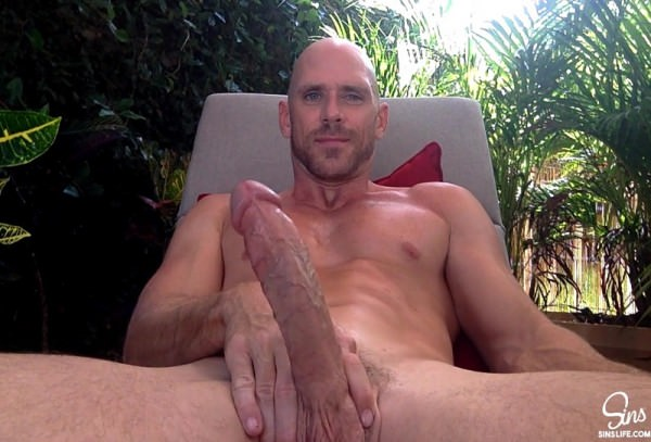 Johnnysins Johnny Sins Outdoor Lounging Solo