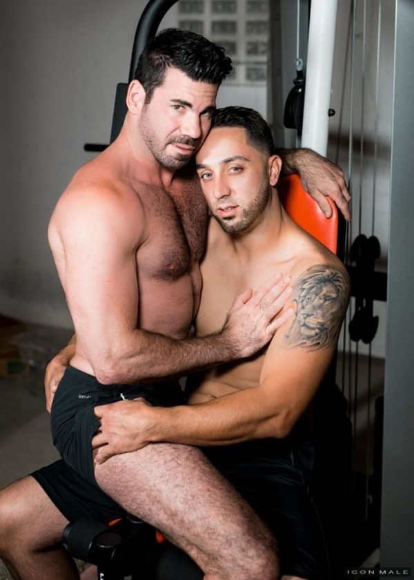 IconMale Time To Try A Real Man Billy Santoro Andrew Fitch