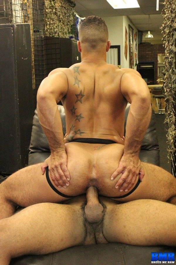 BreedMeRaw Ray Diesel and Trey Turner Part 1 Bareback
