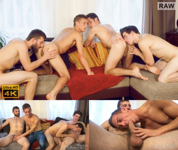 WilliamHiggins Wank Party 2016 #11, Part 1 RAW - WANK PARTY - Adam Rezal, Dusan Polanek, Milan Major Nikol Monak