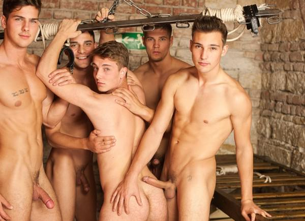 WilliamHiggins Martin, Tomas, Romi, Mirek & Martin BACKSTAGE