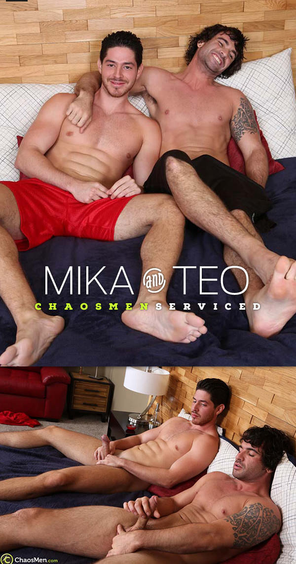 ChaosMen Mika and Teo Serviced