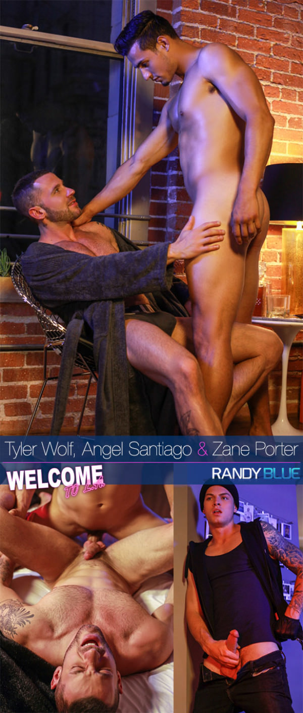 RandyBlue Welcome to LA Downtown Episode 6 Angel Santiago, Tyler Wolf Zane Porter