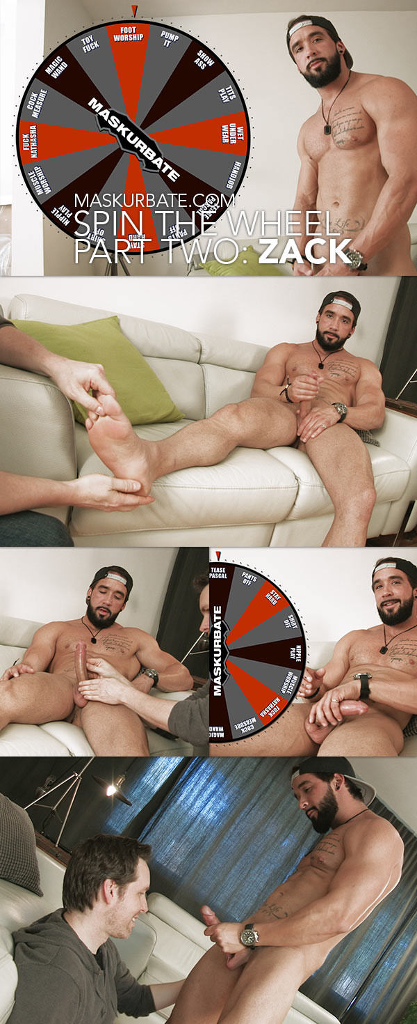 Maskurbate Spin The Wheel Zack Part Two