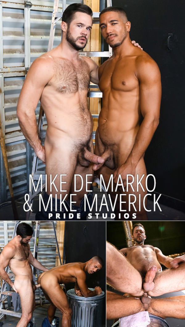 ExtraBigDicks Big Dick Rental Mike De Marko and Mike Maverick fuck each other