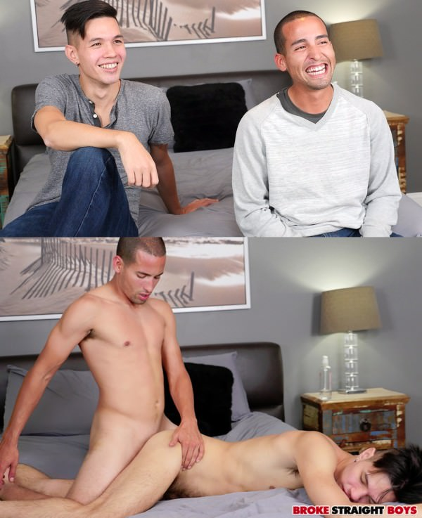 BrokeStraightBoys Jared Marzdon Fucks Isaac Lin Raw