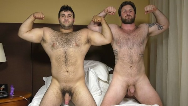TheGuySite Double Fur and Dildos Marcelo Blaze