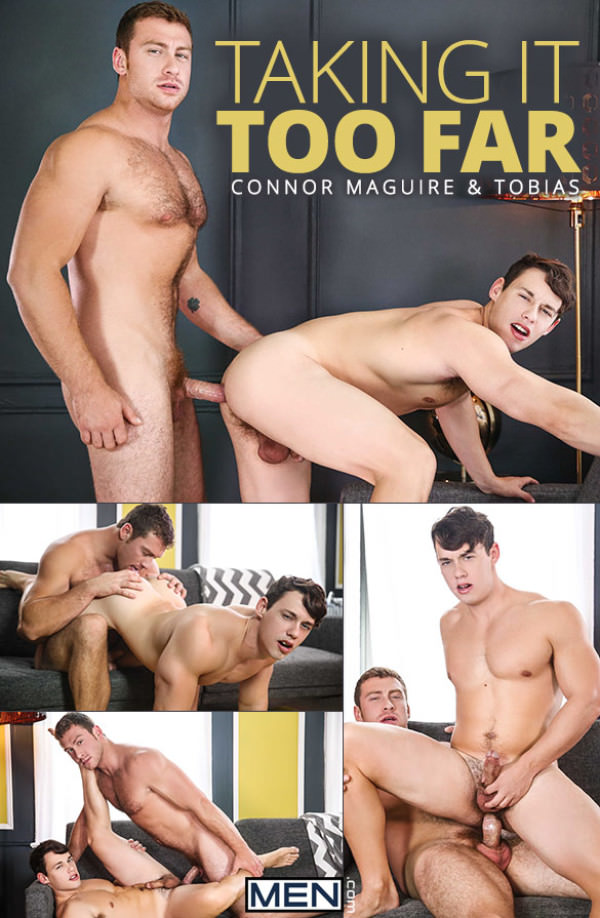 Str8toGay Taking It Too Far Tobias rides Connor Maguire Men.com
